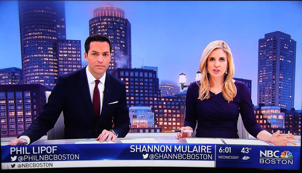 Shannon Mulaire and Phil Lipof anchor the NBC10 Boston newscasts at 6 p.m. and 11 p.m.